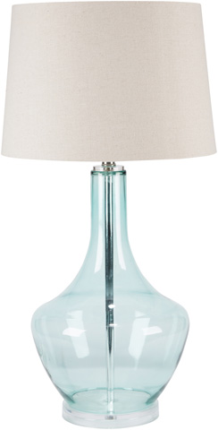 Image of Easton Blue Lamp