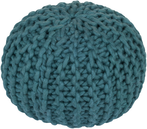 Image of Teal Fargo Pouf
