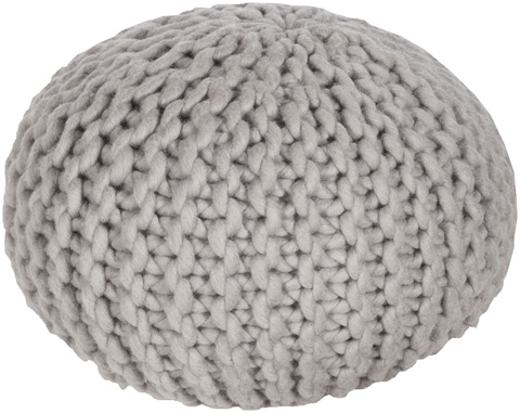Image of gray Fargo Pouf