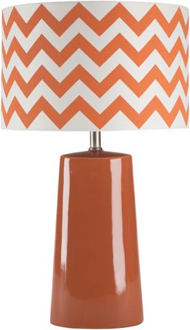Image of Orange Gabby Lamp