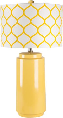 Image of Yellow Hadley Lamp