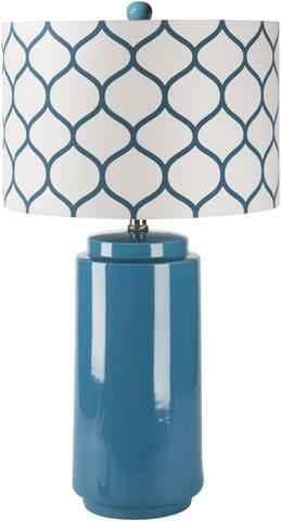 Image of Blue Hadley Lamp