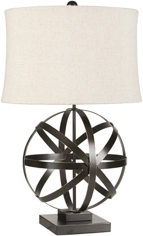 Surya - Sphere Table Lamp - LMP-1003