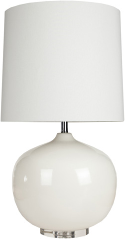 Image of White Table Lamp