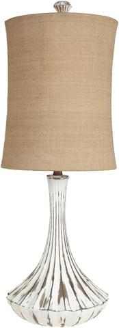 Surya - Silver Table Lamp - LMP-1028