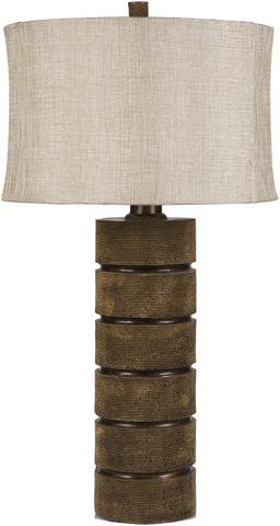 Surya - Brown Table Lamp - LMP-1029