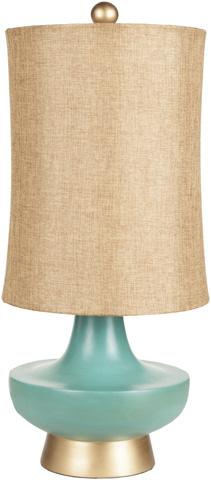 Surya - Turquoise Table Lamp - LMP-1039
