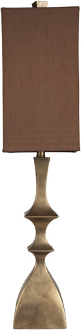 Surya - Gold Table Lamp - LMP-1047