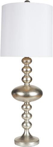 Surya - Silver Sphere Table Lamp - LMP-1050