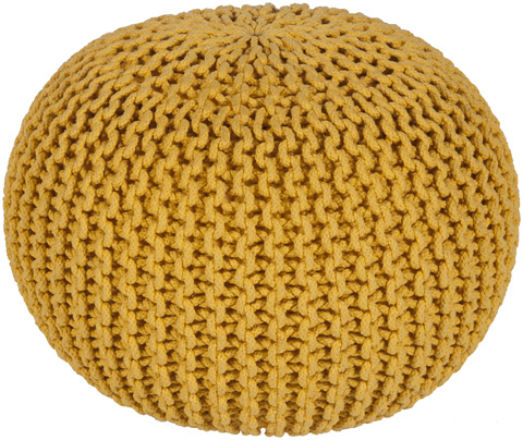 Image of Malmo Yellow Pouf
