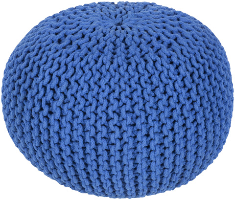 Image of Malmo Blue Pouf