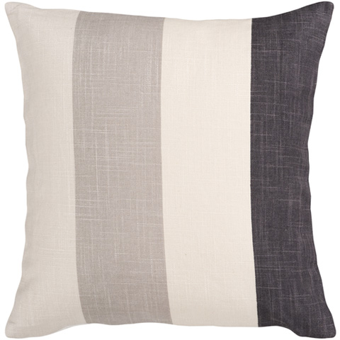 Surya - Simple Stripe Throw Pillow - JS011-1818D