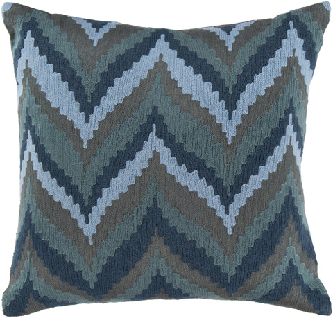 Surya - Ikat Chevron Throw Pillow - AR054-1818D