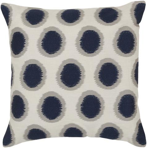 Surya - Ikat Dots Throw Pillow - AR088-1818D