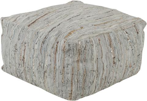 Surya - Anthracite Pouf - ATPF-002