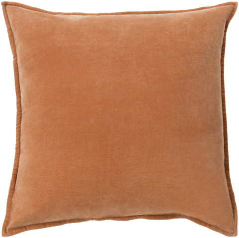 Surya - Cotton Velvet Throw Pillow - CV002-1818D