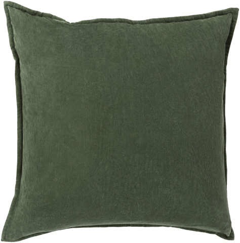Surya - Cotton Velvet Throw Pillow - CV008-1818D