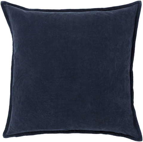 Surya - Cotton Velvet Throw Pillow - CV009-1818D