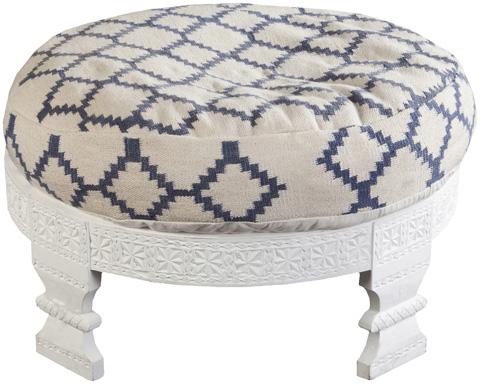 Surya - Round Ottoman - FL1026-767628
