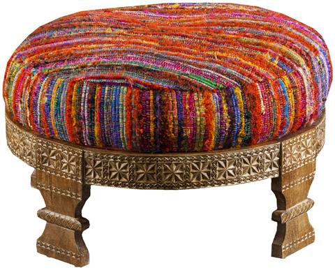 Surya - Round Ottoman - FL1027-767628