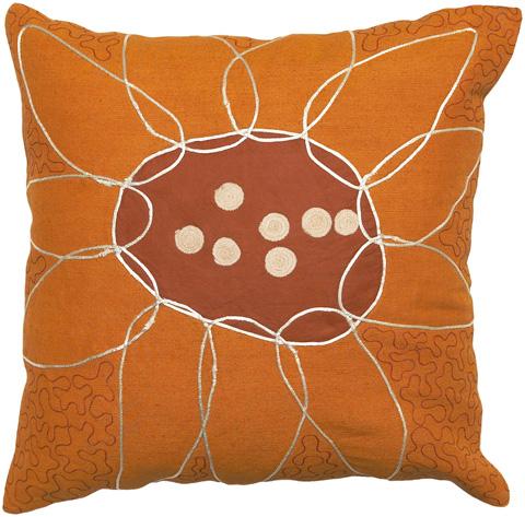 Surya - Sunflower Throw Pillow - FU2003-1818D