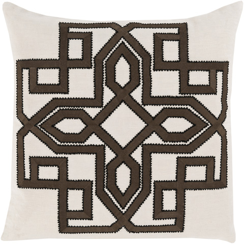 Surya - Gatsby Throw Pillow - GLD004-1818D