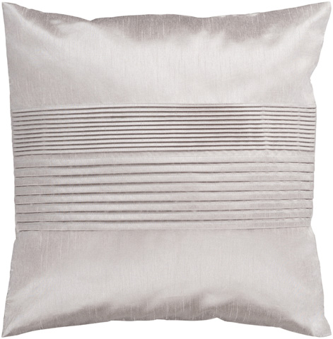 Surya - Solid Pleated Throw Pillow - HH015-1818D