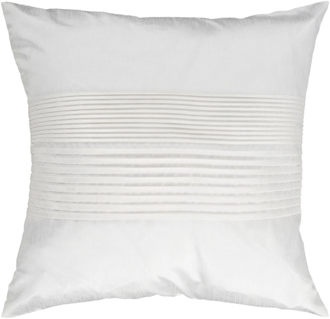 Surya - Solid Pleated Throw Pillow - HH017-1818D