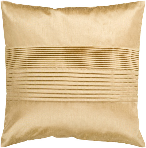 Surya - Solid Pleated Throw Pillow - HH022-1818D