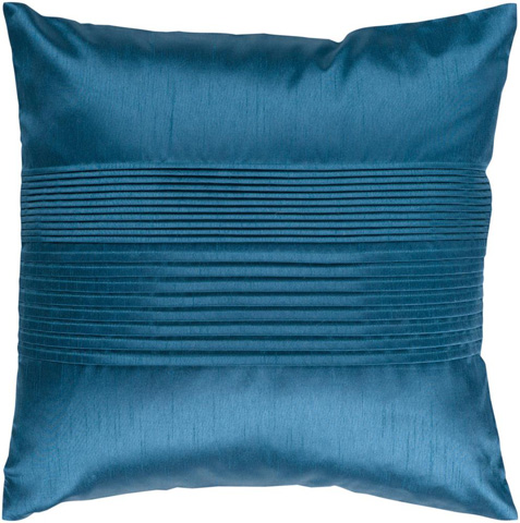 Surya - Solid Pleated Throw Pillow - HH024-1818D