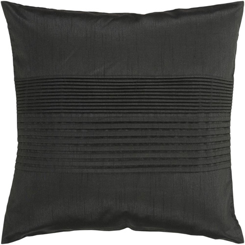 Surya - Solid Pleated Throw Pillow - HH027-1818D