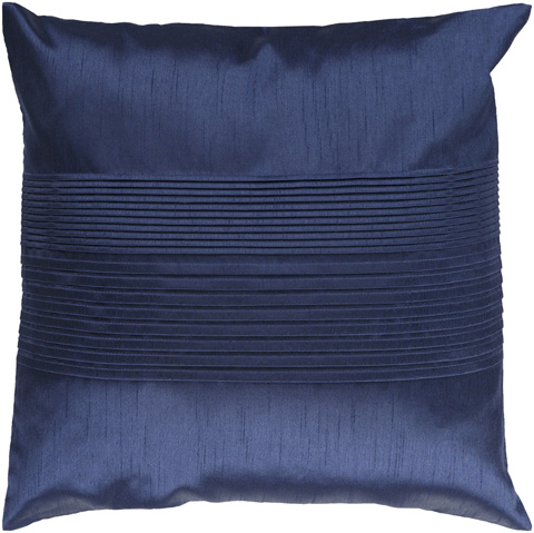 Surya - Solid Pleated Throw Pillow - HH029-1818D