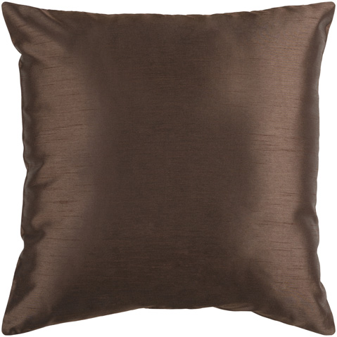 Surya - Solid Luxe Throw Pillow - HH040-1818D