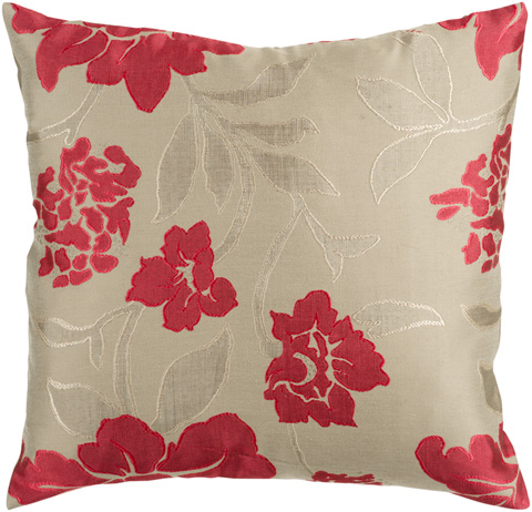 Surya - Blossom Throw Pillow - HH047-1818D