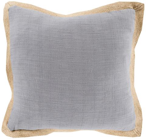 Surya - Jute Flange Throw Pillow - JF003-1818D