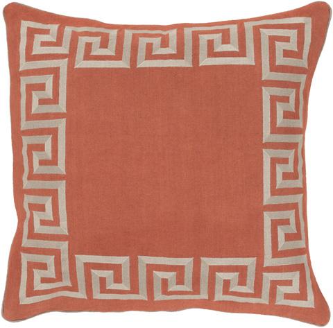 Surya - Key Throw Pillow - KLD006-1818D