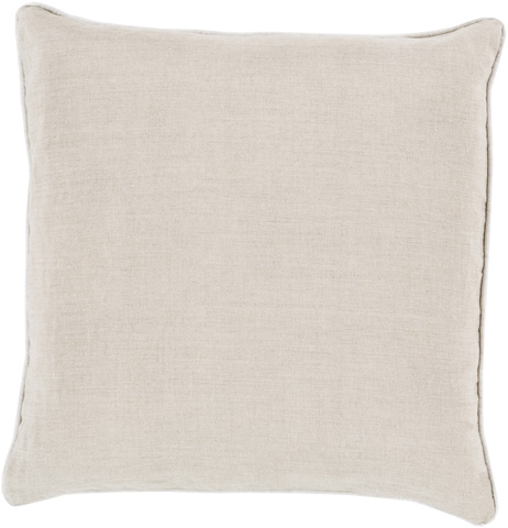 Surya - Linen Piped Throw Pillow - LP008-1818D