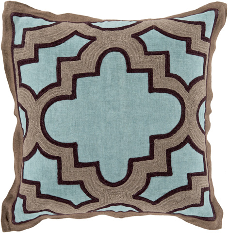 Surya - Maze Throw Pillow - MCO001-1818D