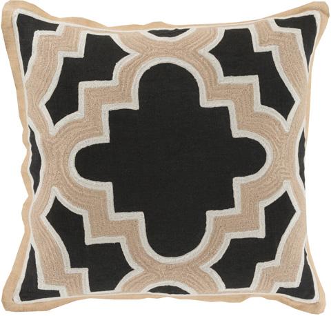 Surya - Maze Throw Pillow - MCO002-1818D