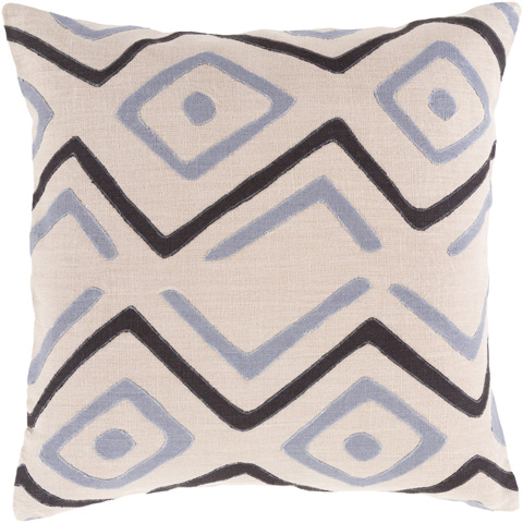 Surya - Nairobi Throw Pillow - NRB007-1818D