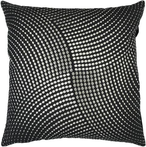 Surya - Midnight Throw Pillow - P0223-1818D