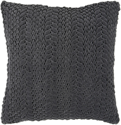 Surya - Velvet Luxe Throw Pillow - P0276-1818D