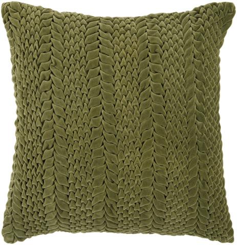 Surya - Velvet Luxe Throw Pillow - P0278-1818D