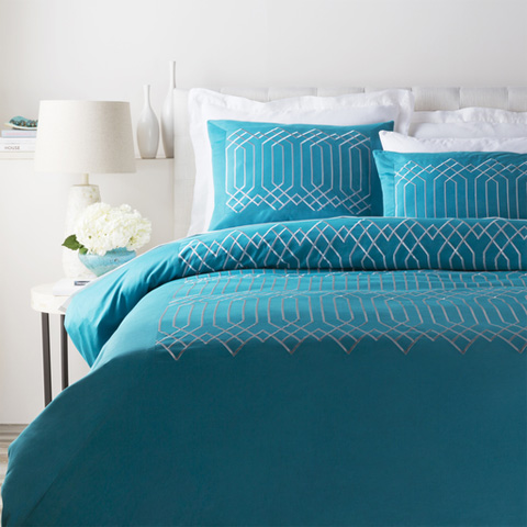 Surya - Plaza Full/Queen Duvet Cover - PLZ4002-FQ