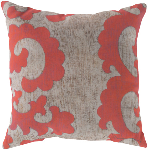 Surya - Rain Throw Pillow - RG019-1818