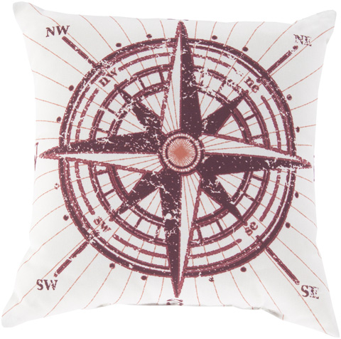 Surya - Rain Throw Pillow - RG077-1818
