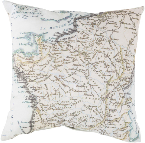 Surya - Rain Throw Pillow - RG129-1818