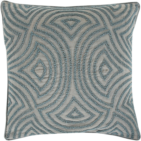 Surya - Skinny Dip Throw Pillow - SKD001-1818D