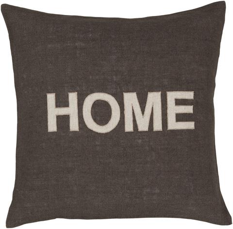 Surya - Stencil Throw Pillow - ST006-1818D