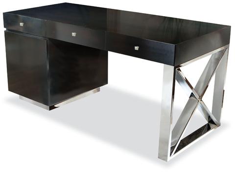Swaim Originals - Three Drawer Pedestal Desk - 746-20-W-FM-FD